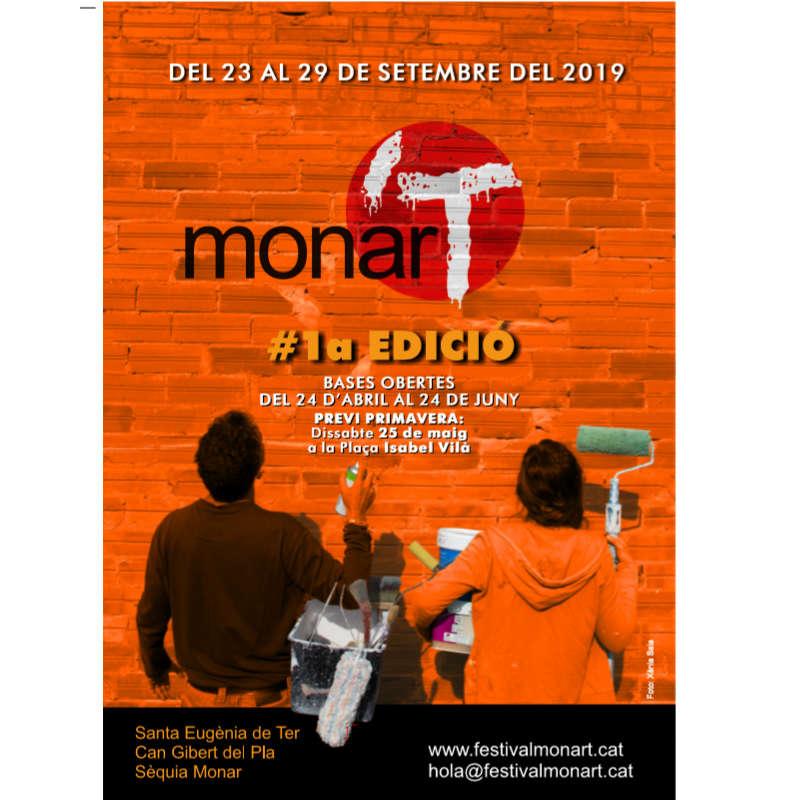 Cartell #1a edició monar'T 2019