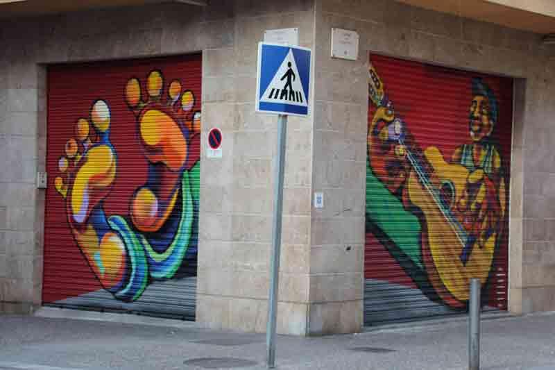 07-Pau Morales. Carrer de la Maçana, Carrer Puigmal