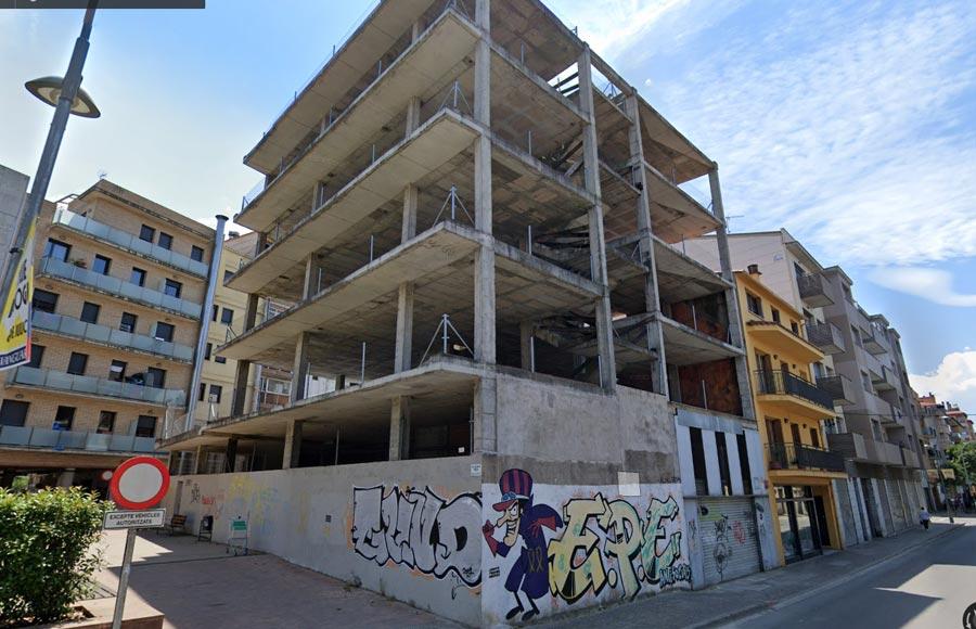 Plaça Leonor Joher - C/ Sta Eugènia