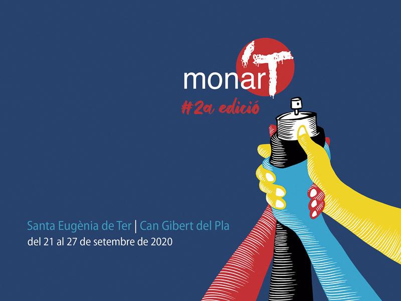 Cartell Fulletó monar'T 2a Edició 2020 Del 21 al 27 de setembre de 2020