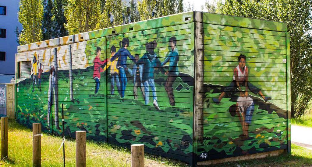01. Mural de la via verda